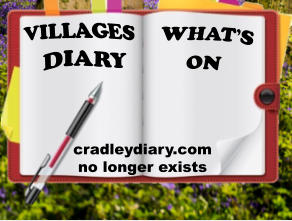 WHAT'S  ON DIARY VILLAGES   cradleydiary.com  no longer exists