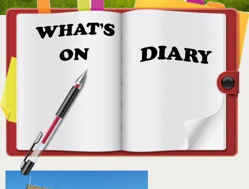 WHAT'S  ON DIARY